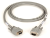Extended-Distance/Quiet Cable with Nonremovable EMI/RFI Hoods, Stranded, DB9, Straight-Wired, 9 (4 1/2 Pairs)—All Pins, 5-ft. (1.5-m), MF -- EGM12D-0005-MF