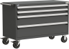Heavy-Duty Mobile Cabinet, with Partitions -- R5BJG-3003 -Image