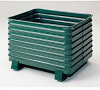 STEEL KING Round Corner Corrugated Steel Containers -- 4633000
