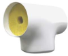 Pipe Fitting Insulation,Tee,7/8In ID -- 6MRG3