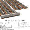 Rectangular Cable Assemblies -- M1DXA-6040K-ND -Image