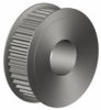 H Series - Aluminum Timing Pulley -- Double Flange - Image