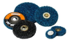 Standard Abrasives 840100 Non-Woven Felt Quick Change Polishing Disc - 1 in Diameter - 37705 -- 051115-37705