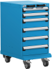 Mobile Compact Cabinet with Partitions -- L3BBG-3001L3 -- View Larger Image