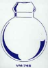 Round Bottom Flask BLANKS -- VM745-04
