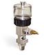 "(Formerly B1681-2), Single Feed Manual Lubricator, 1 oz Polycarbonate Reservoir, 1/4"" Male NPT -- B1681-0012B11W -- View Larger Image"