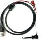Male BNC Coaxial Test Cable RG58C/U to X100W Mini-Hooks -- 1020 -Image