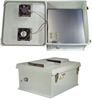 20x16x11 Inch 120VAC Weatherproof Enclosure w/ Solid State Cooling Fan Controller -- NB201611-10FS -Image