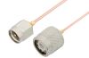 SMA Male to TNC Male Cable 48 Inch Length Using PE-047SR Coax, RoHS -- PE34408LF-48 -Image