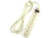 6 Outlet Surge Protector Power Strip w/ 6' Cord -- 215002