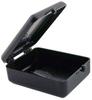 Hinged Conductive Plastic Box -- 661-121 - Image