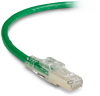 10FT Green CAT6 250MHz Patch Cable F/UTP CM Locking Snagless -- C6PC70S-GN-10 - Image