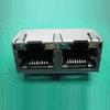 Input-Output Connectors, Modular Jack Series, Modular Jack, Multiple Port, # Contacts/ Port (Loaded)=16 -- 10118066-1006010LF - Image