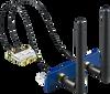 iDoor Module: WiFi 802.11 a/b/g/n 2T2R w/ Bluetooth4.0, Half-size mPCIe, 2-port SMA -- PCM-24S2WF