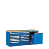Heavy-Duty Stationary Cabinet with Top -- R5XLG-3004 -Image