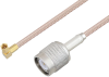 SSMC Plug Right Angle to TNC Male Cable 24 Inch Length Using RG316-DS Coax -- PE3C4480-24 -Image