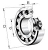 1300 Self Aligning Standard Angular Contact Ball Bearings -- 1302