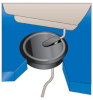 Wire Management Grommet -- WMRG100A - Image