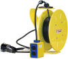 1200 Series PowerReel® - 14AWG / 3 Conductors w/ GFI Receptacle Box, Dual 15A/125V 30FT Length -- XA-121140303017