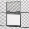 WIREWAY/HUSKY™ Partition System Slide-Up Window-Shelf Service Windows -- 4721118