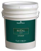Exterior Paint,Flat,5 gal,Cream Fleece -- 22T563