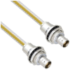 Teflon Jacket Cable Assembly TRB Insulated Bulk Head Jack 3-Lug Cable Jack to Jack .236