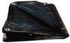 Tarp,Reversible,Polyethylene,12x25Ft -- 5WTK9 - Image