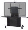 Metal Plasma/LCD Cart -- Package J