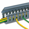 Panduit Panduct® Type H - Hinged Cover Wide Slot Wiring Duct -- PAN-H2X2-6