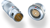2C/2G Series Short Self-Latching Multipole Connectors
