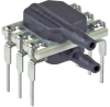 Basic ABP Series, Compensated/Amplified, gage, DIP RR: dual radial barbed ports, same side, liquid media, no diagnostics, 0 psi to 5 psi, digital I²C address: 0x28, no temperature output, no slee -- ABPDRRT005PG2A5 -Image