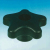 1/4-20 - Thread Polypropylene Fluted Knob -- 85226