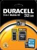 Standard 3-in1 microSDHC – 4 to 32GB