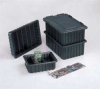 Conductive Box Cover,Black,1x5x5 -- 8APG0