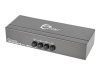 SIIG 4x1 Composite Video Audio Switch - video/audio switch - 4 ports - desktop -- CE-CM0511-S1