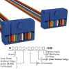 Rectangular Cable Assemblies -- C3DDS-1418M-ND -Image