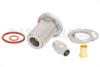 N Female Bulkhead Mount Precision Connector Clamp/Solder Attachment for PE-P142LL -- PE44813 -Image