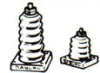 Metal Base Standoff Insulators -- 10-451