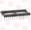MILL MAX 110-99-640-41-001000 ( DIP SOCKET, 40POS, THROUGH HOLE, CONNECTOR TYPE: DIP SOCKET, NO. OF CONTACTS: 40, PITCH SPACING: 2.54MM, ROW PITCH: 15.24MM, CONTACT TERMINATION: SOLDER ) -- View Larger Image
