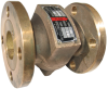 Cast Bronze Globe Silent Check Valves -- 105MBP