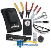 Leviton Universal Fiber Optic Tool Kit Plus -- 49800-UTP