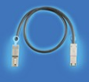 Cable Assemb. and IO cable connect., IO cable connect., SFF High Speed IO connect. and Cages, mini-SAS - SATA IO connect., mini-SAS - SATA IO cable assembly, Keying Style=In-port to In-port keying -- 10084749-M060002LF - Image