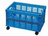 Collapsible Mesh PP Storage Basket (without casters); Blue -- GO-06818-70