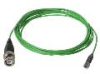 Coax Low Noise TFE Cable for HALT & HASS testing, 10 ft 10-32 plug with SS Hex to BNC plug -- 098Q10 -- View Larger Image
