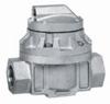 Flowmeter, oval gear, Aluminum, 1/2