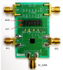 Evaluation Board for High Reliability SP2T RF Switch F2912 -- F2912EVBI