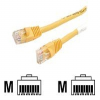StarTech.com Snagless Cat 5e Crossover UTP Patch Cable - Cro -- 45CROSS6YL