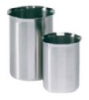 1200B - Stainless-steel Griffin-style beaker with easy-pour rim, 1200 mL -- GO-07205-60 - Image
