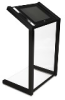 Interactive Kiosk in Acrylic and painted steel -- 6825-X6-EN