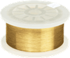 Gold Plated Stainless Steel Wire - Image
